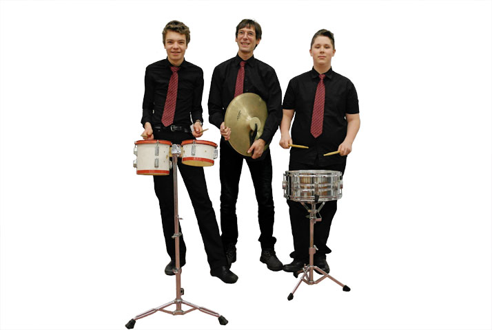 blasorchester greifswald schlagzeug schlagwerk becken percussion pauken bongo konga kleine trommel triangel xylophon glockenspiel