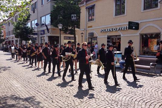 blasorchester greifswald kristianstad schweden musikfest 2015 ummarsch